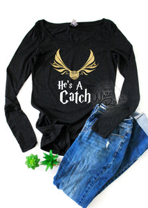 HP Catch & Keeper Long Sleeved Tops