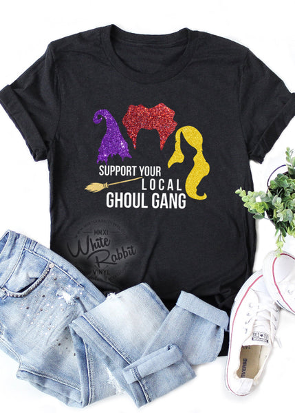 Support Your Local Ghoul Gang Unisex T-Shirt