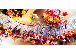 Thankful Burlap Banner