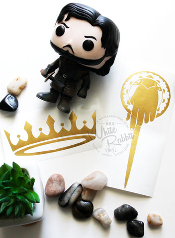 The King & The Hand Decal