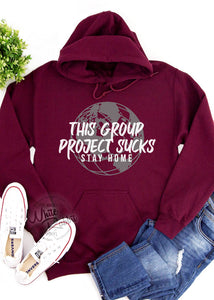 This Group Project Sucks Unisex Pullover Hoodie