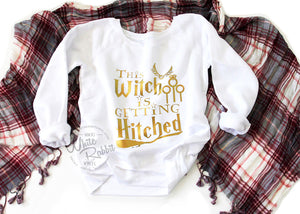 This Witch Is Getting Hitched Slouchy Sweater