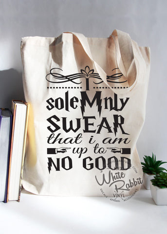 HP Up To No Good Mischief Managed Tote Bag