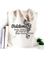 Load image into Gallery viewer, Voldemart Dark Arts and Crafts Home Goods Store Tote Bag