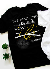 We Made The Unbreakable Vow Couple Tees, Tank Tops