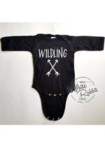 Load image into Gallery viewer, Wildling Long Sleeve Infant Bodysuit
