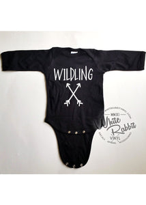 Wildling Long Sleeve Infant Bodysuit