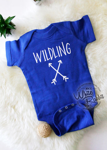Wildling Short Sleeve Onesie