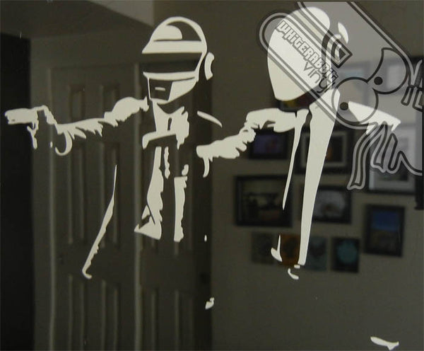 Daft Punk Fiction Decal