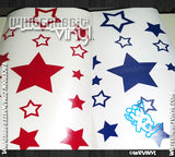 Sheet of Stars Decal