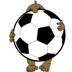 Brown Soccer Baby by Soccer-Views
