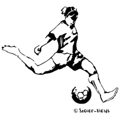 Driving the Soccer Ball by Soccer-Views