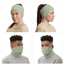 Load image into Gallery viewer, Blue Leaves Neck Gaiter