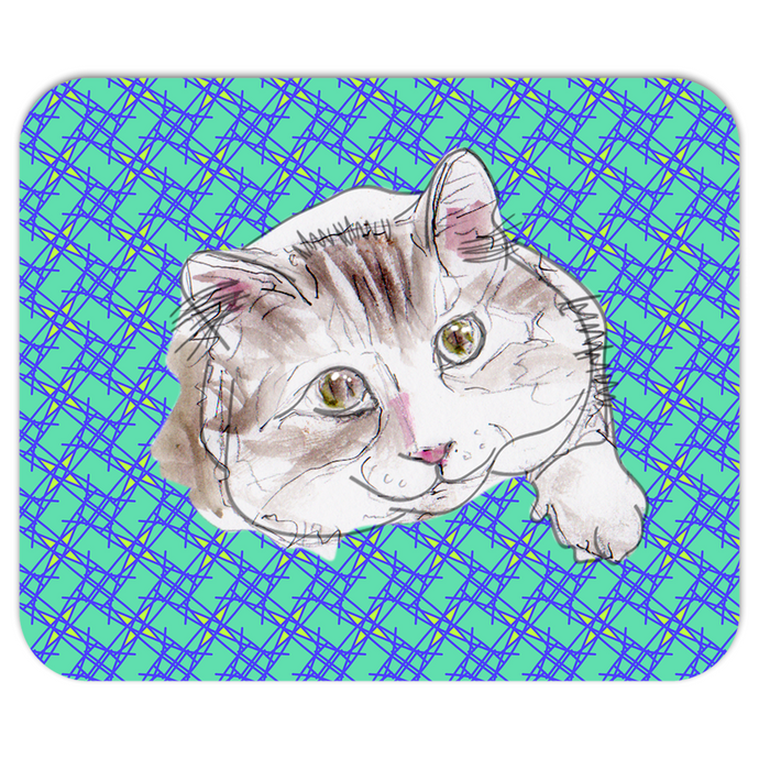 Tooley Cafe Kitty Pet Mousepad