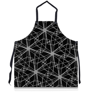 White Threads - Designer Apron