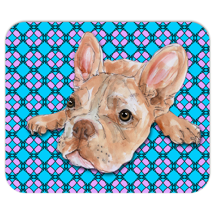 Little Frenchie Pet Mousepad
