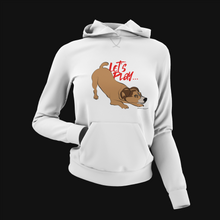 Load image into Gallery viewer, Pup Tees - Com'on, let's play! Hoodie
