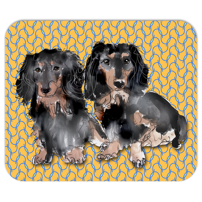 Double Doxies Pet Mousepad