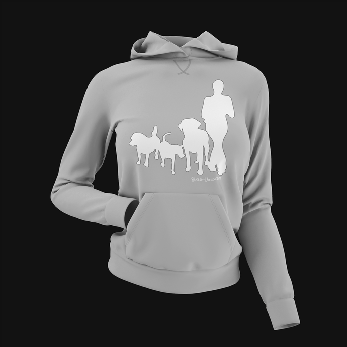 Pup Tees - Dog Walking Hoodie