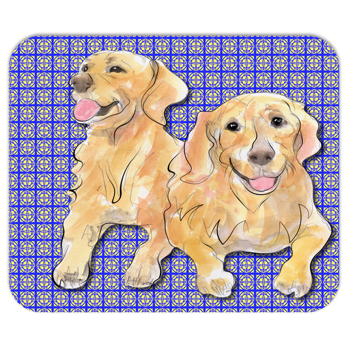 Golden Retriever Pet Mousepad