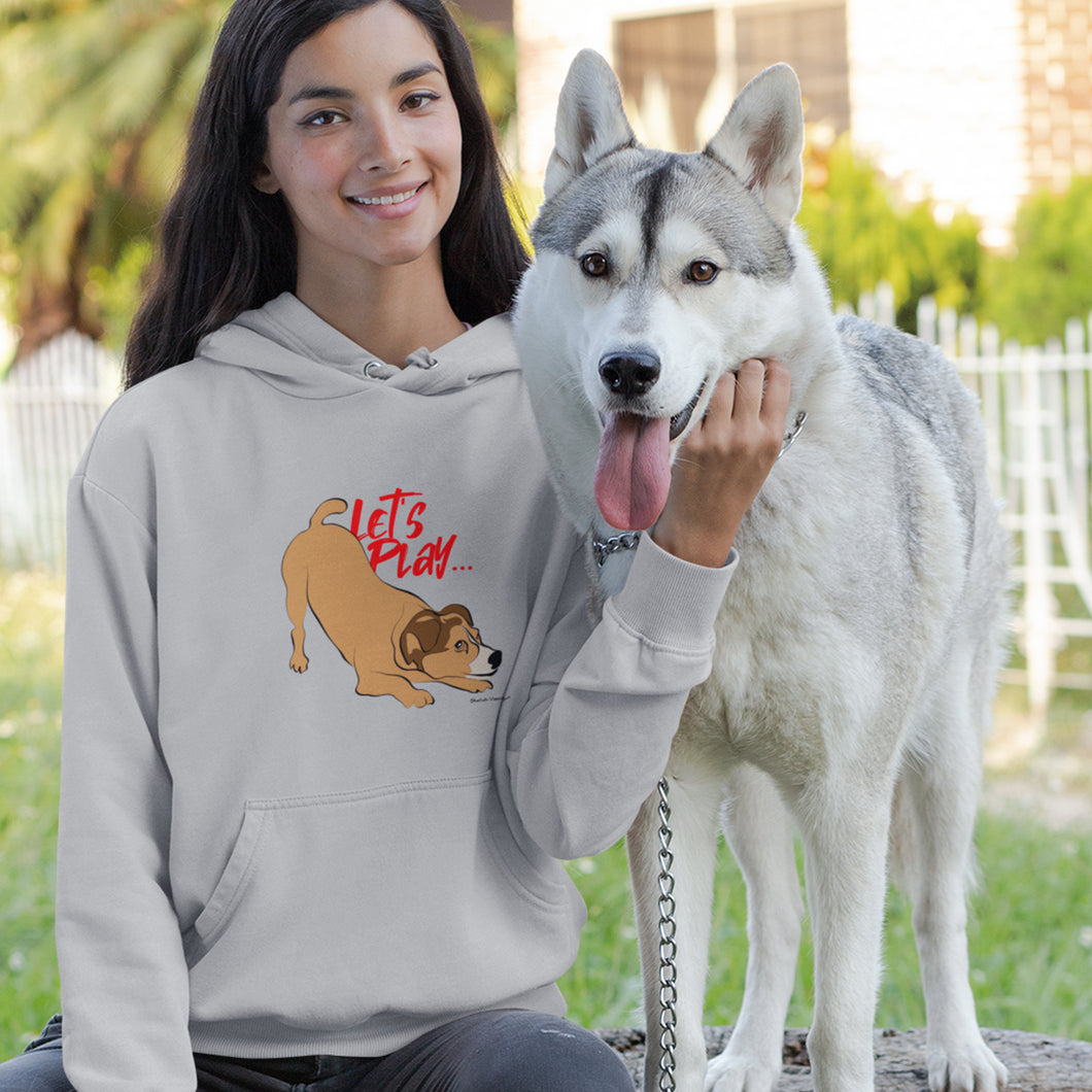 Pup Tees - Com'on, let's play! Hoodie
