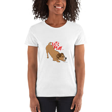 Load image into Gallery viewer, Pup Tees - Com'on, let's play! T-shirt