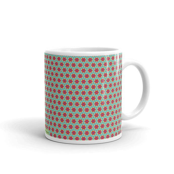 Designer Mugs - Circle of Flowers - Limited Edition July 2020
