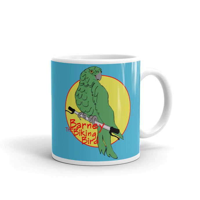 Barney the Biking Bird Mug
