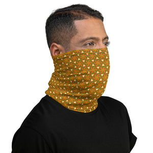 Swirling Suns Neck Gaiter