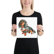 Load image into Gallery viewer, Your Pup on a Square Poster