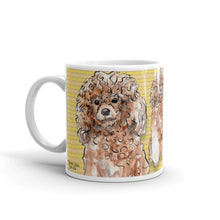 Load image into Gallery viewer, Standard Poodles Posing Mug