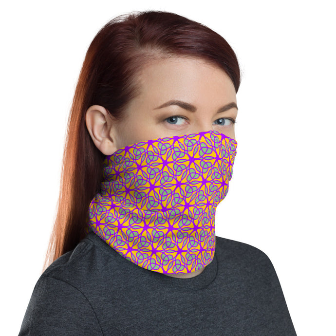 Green Vines Neck Gaiter