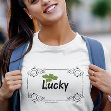 Load image into Gallery viewer, Simple Tees - LUCKY!
