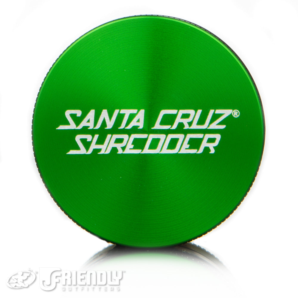 Santa Cruz Shredder Medium 4pc. Green Shredder