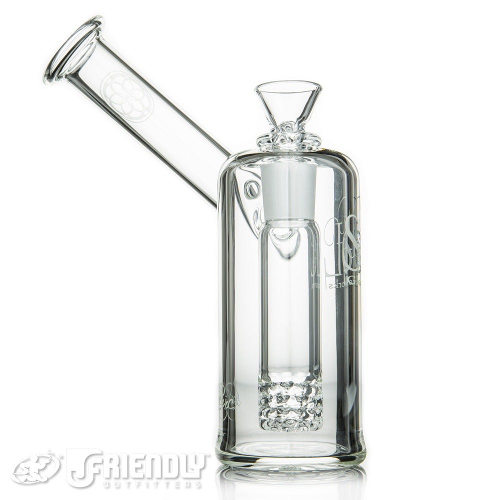 Seed of Life Sidecar Bubbler w/Lace Perc
