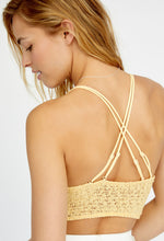 Miss Dazie Bralette Yellow