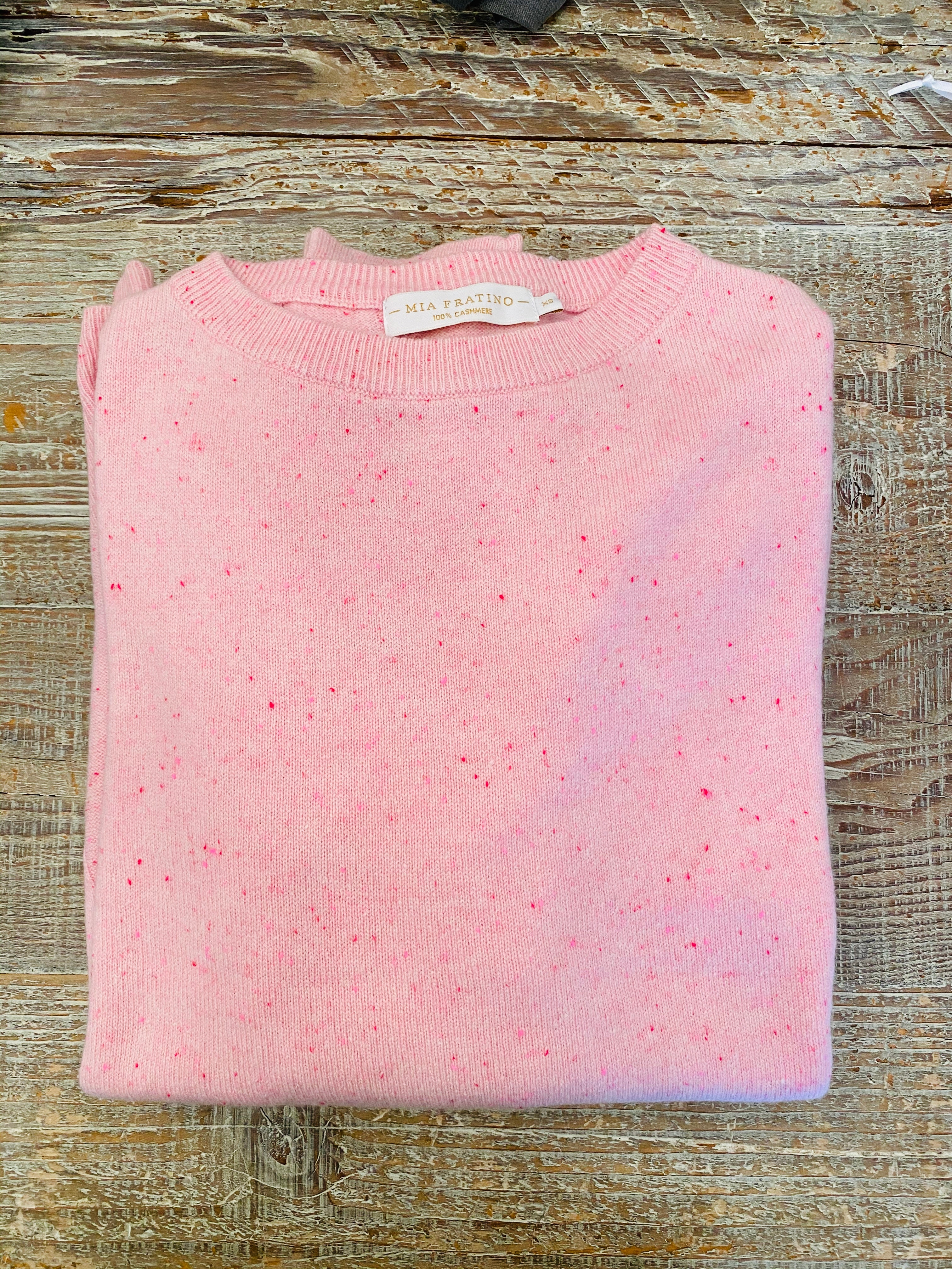 Essential Crew Pink Fleck