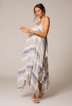 Aquilone Dress Pacific Stripe