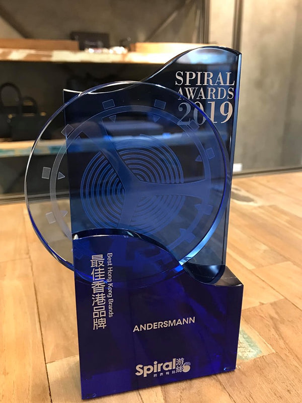 Thank you Spiral Magazine HK for awarding ANDERSMANN