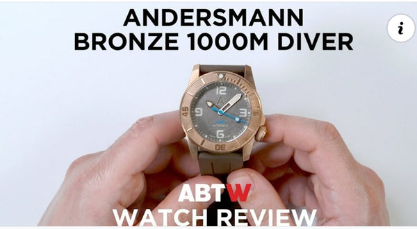 Thank you Ablogtowatch for the review of Andersmann Bronze 1000m