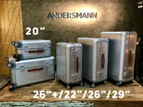 AAL-26 PLUS ANDERSMANN ALUMINIUM LUGGAGE CASE