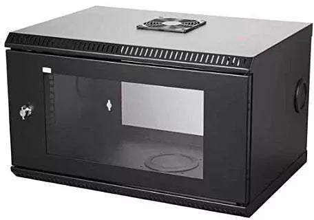 DATA CABINET 6U 600X450 with Fan - Winshaye Informatics