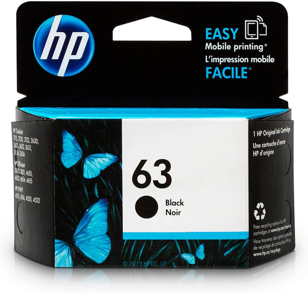 HP 63 Black Original Ink Cartridge - Winshaye Informatics