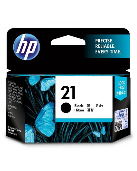 HP 21 Black Original Ink Cartridge - Winshaye Informatics