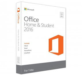 Microsoft Office Home and Student 2016 for MAC English International Africa Only Medialess