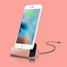 MOBILE PHONE CHARGE DOCK FOR IPHONE CHARGE + DATA