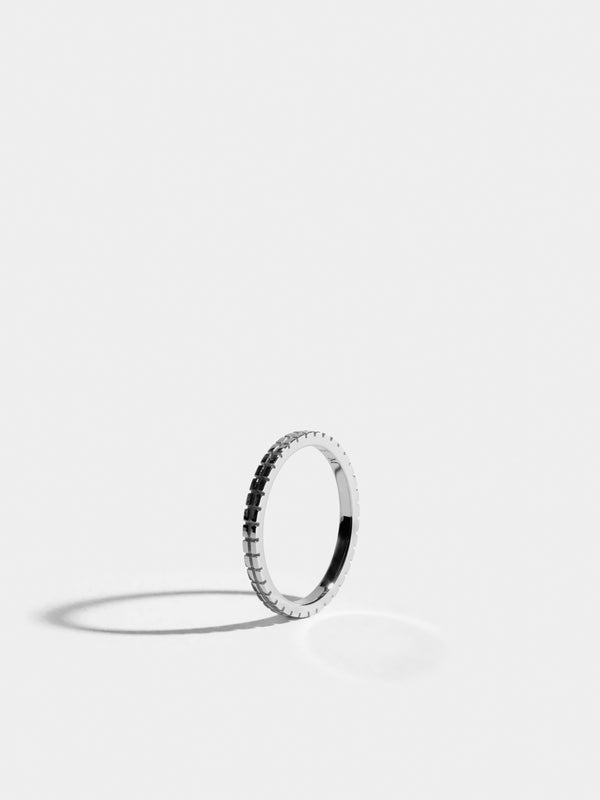 Bague Anagramme damier