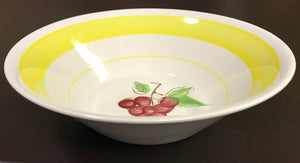 "Vintage Landmark Design Korea Ironstone 9"" Serving Bowl"