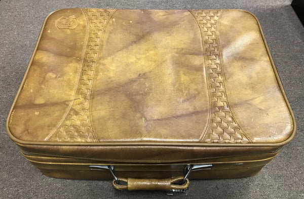 *SALE ITEM*   Vintage 1978 American Tourister Leather Suitcase