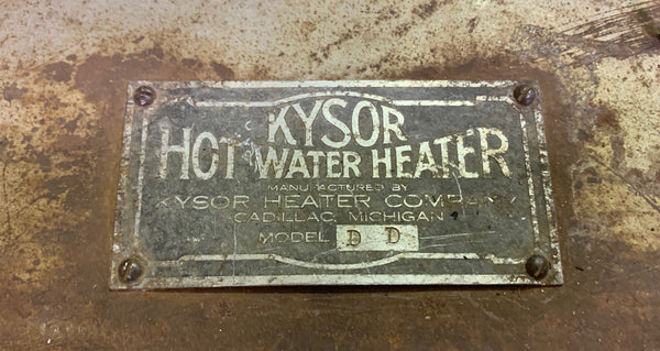 Vintage Kysor Hot Water Heater